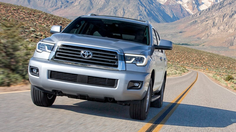 2018 toyota sequoia in raleigh nc leith toyota. Black Bedroom Furniture Sets. Home Design Ideas