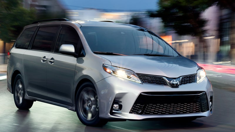 2018 toyota sienna in raleigh nc leith toyota. Black Bedroom Furniture Sets. Home Design Ideas