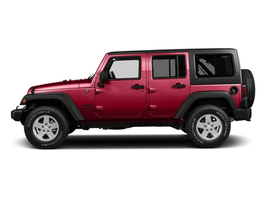 Used 2017 Jeep Wrangler Unlimited For Sale Raleigh 1C4BJWDG8HL578888