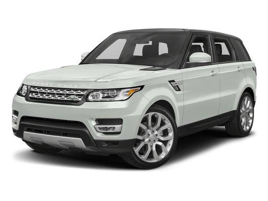 2017 Range Rover Configurations >> 2017 Land Rover Range Rover Sport V6 Supercharged Se
