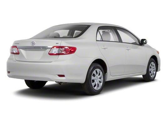 2011 Toyota Corolla For Sale >> 2011 Toyota Corolla 4dr Sdn Auto Le