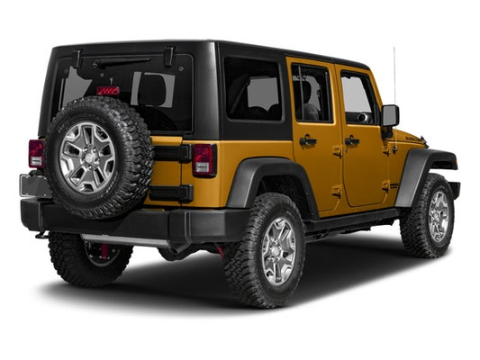 Jeeps For Sale Raleigh Nc >> 2017 Jeep Wrangler Unlimited Rubicon 4x4