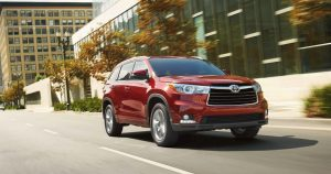Confident Drivier In A Toyota Highlander Raleigh Nc