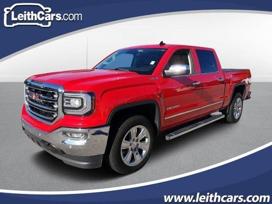Brilliant 2018 Gmc Sierra 1500 4Wd Crew Cab 143 5 Slt Evergreenethics Interior Chair Design Evergreenethicsorg