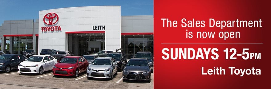 Used Car Dealerships In Raleigh Nc >> Leith Toyota in Raleigh NC | Serving Cary, Apex, Durham